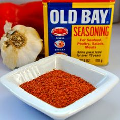"""Old Bay Seasoning Recipe"" via ""Mom, What's For Dinner?"""