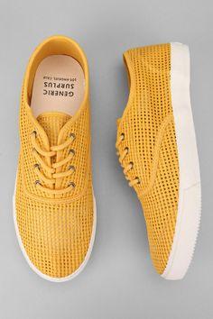 Generic Surplus Borstal Mesh Plimsoll Sneaker