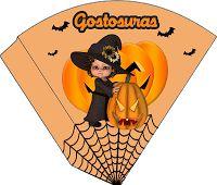 Convites Digitais Simples: Mini Kit Halloween