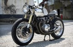Nice little street fighter cafe bike