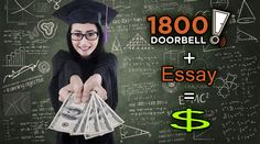 $1,000 Doorbell Scholarship for high school seniors & college students. Deadline Jan. 10