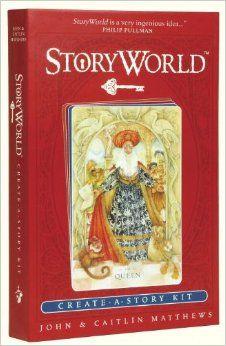 The Storyworld Box: Create-A-Story Kit: John Matthews, Caitlin Matthews, Various: 9780763645458: Amazon.com: Books