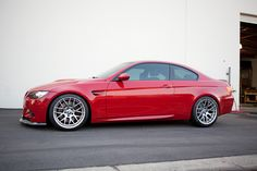 red BMW M3 E92 coupe #bmw #car
