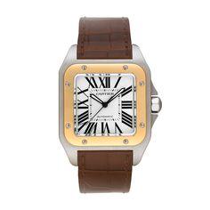 Santos 100 watch, large model