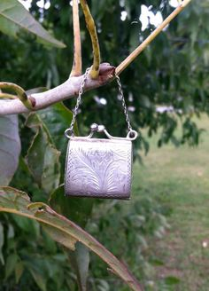 Anitque vintage sterling silver Miniature by FeathercatEmporium, $125.00