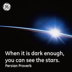 You can see the stars #Quotes #GEHealthcare