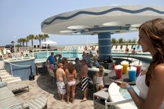 Therapy Pool Party at hotel BLUE. You won't leave here thirsty!