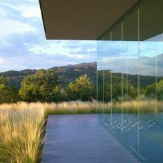 Santa Fe - Structural Glass Wall, Ohlhausen DuBois Architects