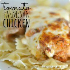 Tomato Parmesan Chicken