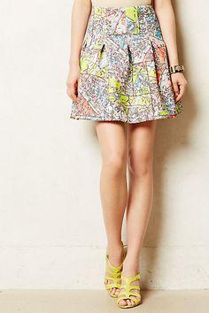 Carte Neoprene Skirt - anthropologie.com