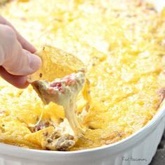 Crock Pot Bacon Cheeseburger Dip | Real Housemoms