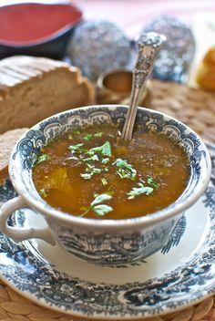 Sopa de pavo, receta de Navidad