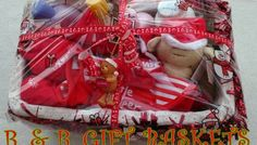 » 1ST CHRISTMAS NEW BORN BABY GIFT BASKET