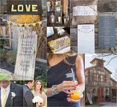 Yellow & Gray Preppy Wedding Colors - Preppy Wedding Style