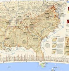 US Civil War - Google Maps Gallery