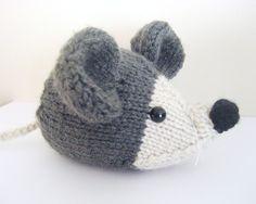 Knit Mouse Pattern