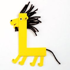 ABC shape letter crafts
