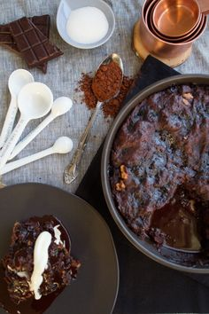 Chocolate-Caramel Tart With Drunken Raspberries And Vanilla Creme ...