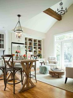 Cottage Living-rooms from TerraCotta Properties on HGTV