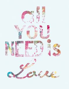 All you need is Love. | Love Quotes and Declarations by Marco Cruz Joalheiro