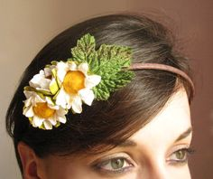 Daisies fild by OnYourHead on Etsy