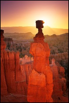 Sunrise at Thors Hammer by Gary Crabbe, via 500px; Bryce Canyon National Park