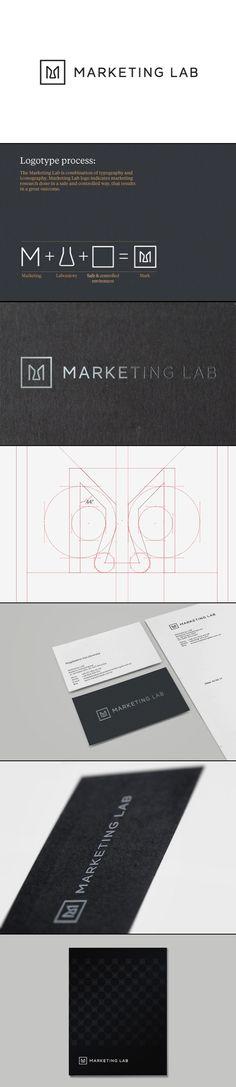 Marketing Lab | #corporate #branding #creative #logo #personalized #identity #design #corporatedesign < repinned by www.BlickeDeeler.de | Have a look on www.LogoGestaltung-Hamburg.de