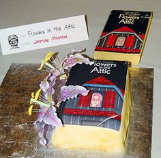 Flowers in the Attic cake looks good and tasted sweet too no doubt.