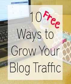 Ways to grow blog traffic