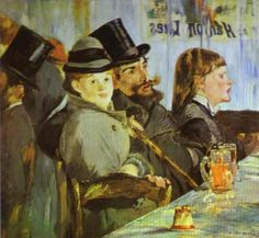 At the Café - 1878 - Edouard Manet