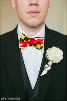 Maryland Themed Wedd