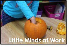 Pumpkin descriptive writing! Use five senses!