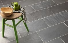 Classic Beijing Black Riven from Mandarin Stone. Popular for either contemporary or traditional interiors, this tried and tested Black Slate is versatile and hardwearing. Also available in exterior thicknesses for those wishing to take the inside out. #kitchen #dining #stone #flooring http://www.mandarinstone.com/products/slate/classic_beijing_black_riven#