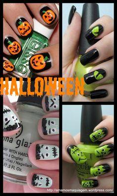 Halloween Nail Art - Unhas Decoradas Halloween