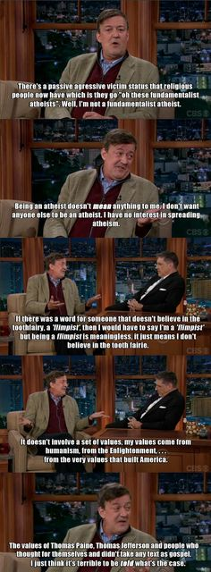 Stephen Fry on Craig Ferguson