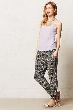 Deauville Joggers #anthropologie