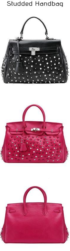 Studded Handbag, looks sexy! | #Handbag