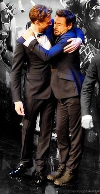 "RDJ is like ""let me love youuu!"" <----- everyone is like that."