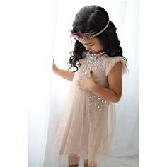 OBSESSED! love the delicate details on this dress. #Tutudumonde #KidsStyle -- SO gorgeous!! love it, @corine