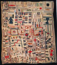 Philadelphia Museum of Art - Collections Object : Pieced and Appliqué Quilt