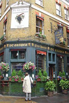 Quaint London Pub