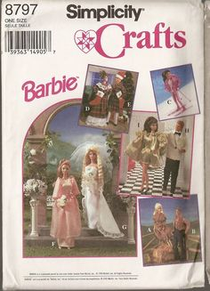 Link to many FREE Barbie printable patterns.