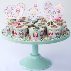 Babushka Cupcakes