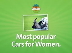 Men are from Maserati, Women are from Volkswagen? The Most Popular Cars for Women and Why.