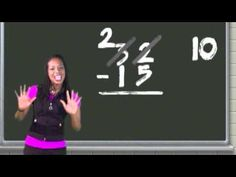 Regrouping Subtraction video - i used this last year for a lesson.  so dang catchy :)
