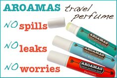 Travel perfume sticks for the woman on the go!  Read about it in this post:  Dear Traveler, Meet AROAMAS and Never Leave Your Perfume Behind Again