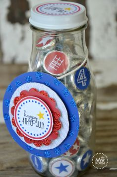 Printable 4th of July Kiss Printables @Amy Lyons Huntley (TheIdeaRoom.net)