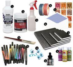 art journalling kit