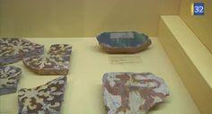 French Tile exhibition in Museum Saint-Loup, Troyes - video by Canal 32 - 1000 carreaux de pavement au musée Saint-Loup