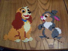 Disney /  Perler Beads - Hama perlen - Bügelperlen